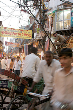 Police post in Chandni Chowk